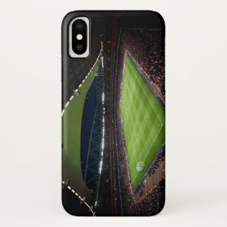 Capa Para iPhone X Campo de futebol