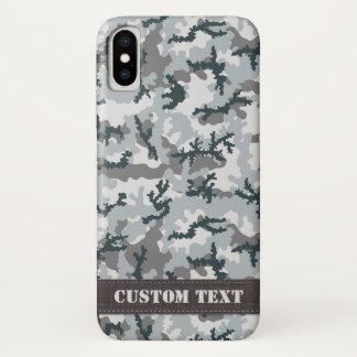 Capa Para iPhone X Camuflagem urbana