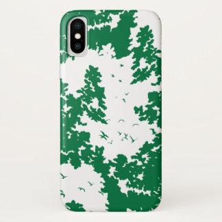 Capa Para iPhone X Canção da natureza - dia