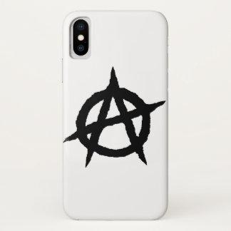 Capa Para iPhone X Caos do sinal da cultura da música do punk do