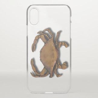 Capa Para iPhone X Caranguejo de cobre