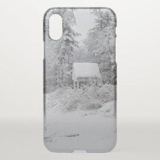 Capa Para iPhone X Casa boa no inverno por Phylli 2