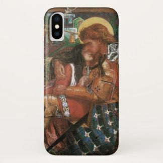 Capa Para iPhone X Casamento de St George, princesa Sabra por