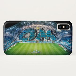 Capa Para iPhone X Casco de protecção Olímpico de Marselha