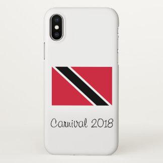 Capa Para iPhone X Caso 2018 do iPhone X do carnaval de Trinidad