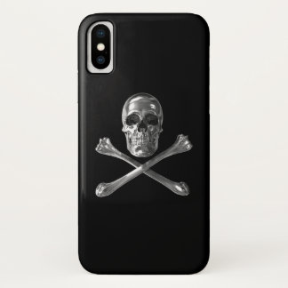 Capa Para iPhone X Caso alegre do iPhone X do crânio de Roger