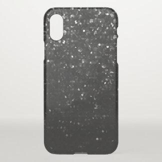 Capa Para iPhone X caso Bling de cristal preto Strass do iPhone X