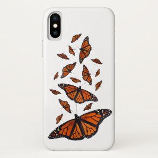 Capa Para iPhone X Caso do iPhone X da mistura do monarca (escolha a