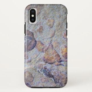 Capa Para iPhone X Caso do iPhone X da rocha da pedra do minério de