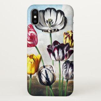 Capa Para iPhone X Caso do iPhone X das tulipas