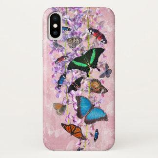 Capa Para iPhone X Caso do iPhone X de Flutterbies