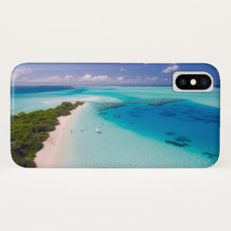 Capa Para iPhone X Caso do iPhone X de Maldives mal lá
