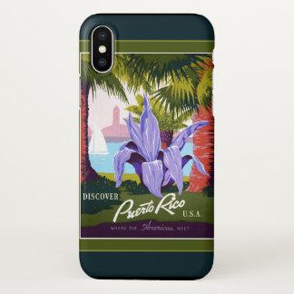 Capa Para iPhone X Caso do iPhone X de Puerto Rico