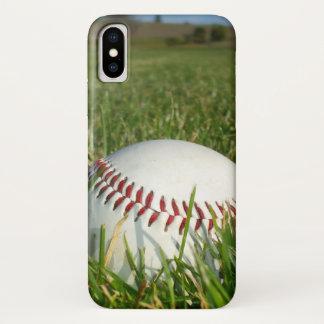 Capa Para iPhone X Caso do iPhone X do basebol