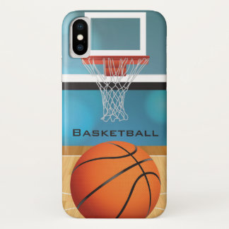 Capa Para iPhone X Caso do iPhone X do design do basquetebol