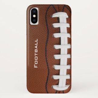 Capa Para iPhone X Caso do iPhone X do design do futebol