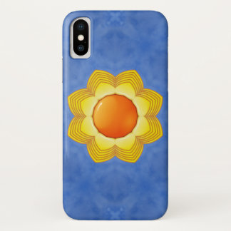 Capa Para iPhone X Caso do iPhone X do dia ensolarado mal lá