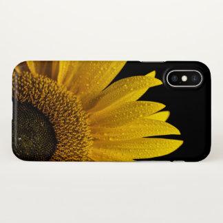 Capa Para iPhone X caso do iPhone X do girassol