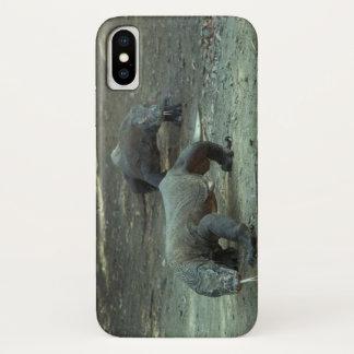 Capa Para iPhone X Caso do iPhone X dos dragões de Komodo