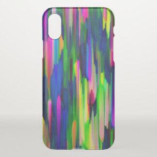 Capa Para iPhone X caso G256 de espirro colorido do iPhone X