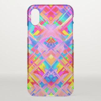 Capa Para iPhone X caso G470 de espirro colorido do iPhone X