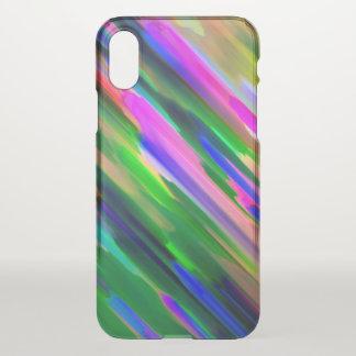 Capa Para iPhone X caso G487 de espirro colorido do iPhone X