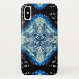 Capa Para iPhone X Caso místico da fórmula da estrela de Mathers