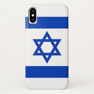 Capa Para iPhone X Caso patriótico de Iphone X com a bandeira de