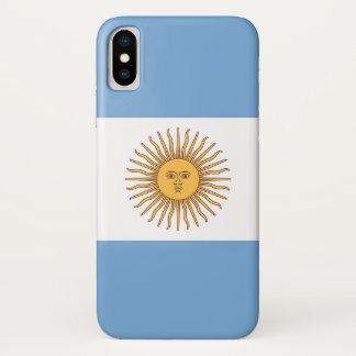 Capa Para iPhone X Caso patriótico de Iphone X com bandeira de