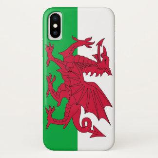 Capa Para iPhone X Caso patriótico de Iphone X com bandeira de Wales