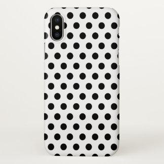 Capa Para iPhone X caso Polkadots do iPhone X