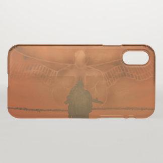 """Capa Para iPhone X Caso translúcido do iPhone X do """"guardião"""""""