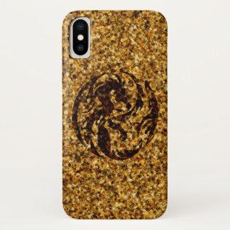 Capa Para iPhone X Caso tribal do iPhone X da marca de queimadura dos