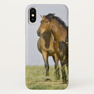 Capa Para iPhone X Cavalos selvagens ferozes 3 do caballus do Equus