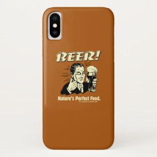 Capa Para iPhone X Cerveja: A comida perfeita da natureza