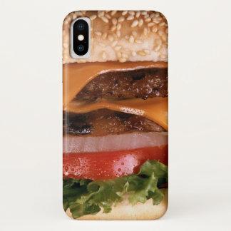 Capa Para iPhone X Cheeseburger
