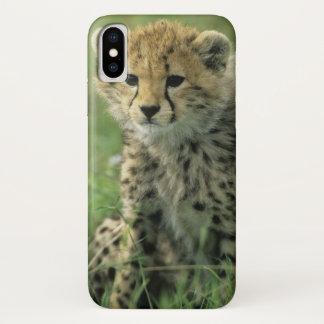 Capa Para iPhone X Chita, (jubatus do Acinonyx), Tanzânia, Serengeti