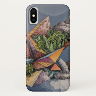 Capa Para iPhone X Chuva do deserto