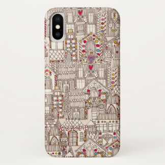 Capa Para iPhone X cidade do pão-de-espécie