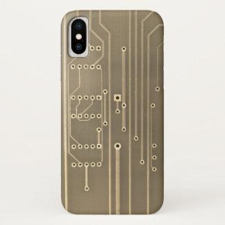 Capa Para iPhone X Circuitos