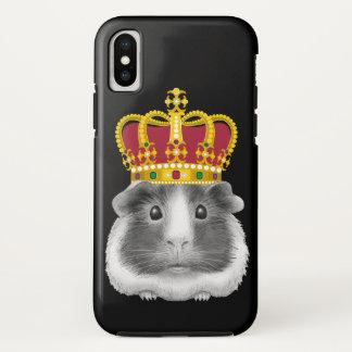 Capa Para iPhone X Cobaia em uma coroa
