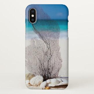 Capa Para iPhone X Cobrir do iphone da praia do oceano