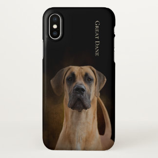 Capa Para iPhone X Cobrir do iPhone X de great dane