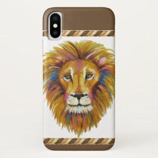 Capa Para iPhone X Cobrir do telemóvel do leão