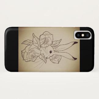 Capa Para iPhone X Coelho de Jack