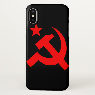 Capa Para iPhone X Comunismo