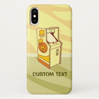 Capa Para iPhone X Console alto do jogo de arcada