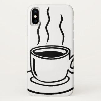 Capa Para iPhone X Copo de café