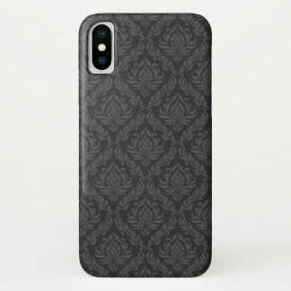 Capa Para iPhone X Cor damasco 6