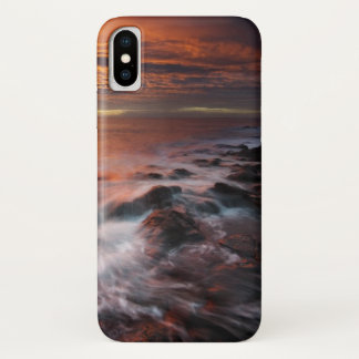 Capa Para iPhone X Costa do parque natural de Cabo De Gata